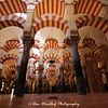 The splendid interior of La Mezquita - Cordoba, Spain
