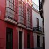 Street in La Juderia, Cordoba's old Jewish quarter.