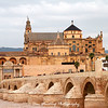 La Mezquita, the Roman Bridge, and the Guadalquivir River.