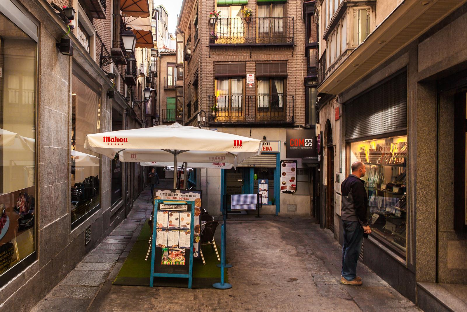 西班牙小镇的街景