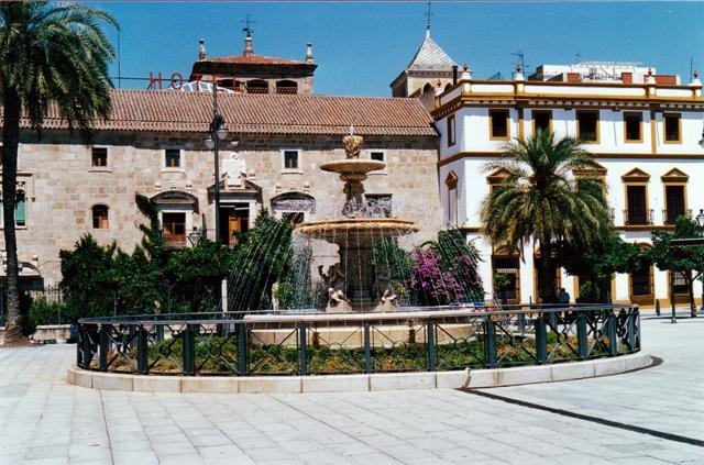 Plaza de España en Merida