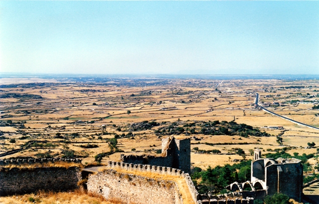 Vistas desde el Castillo de Trujillo