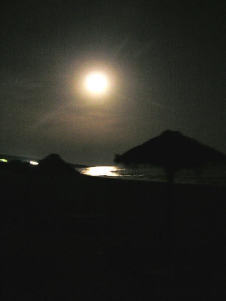 Una noche en la playa