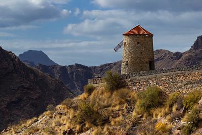 Molino de Barranco de Aldea, Gran Canaria