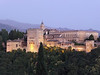 View of the Alhambra at Dusk