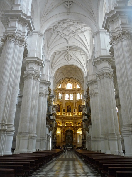 Columns and vaults in the Cathedral