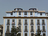 Decorative design on a building in Seville