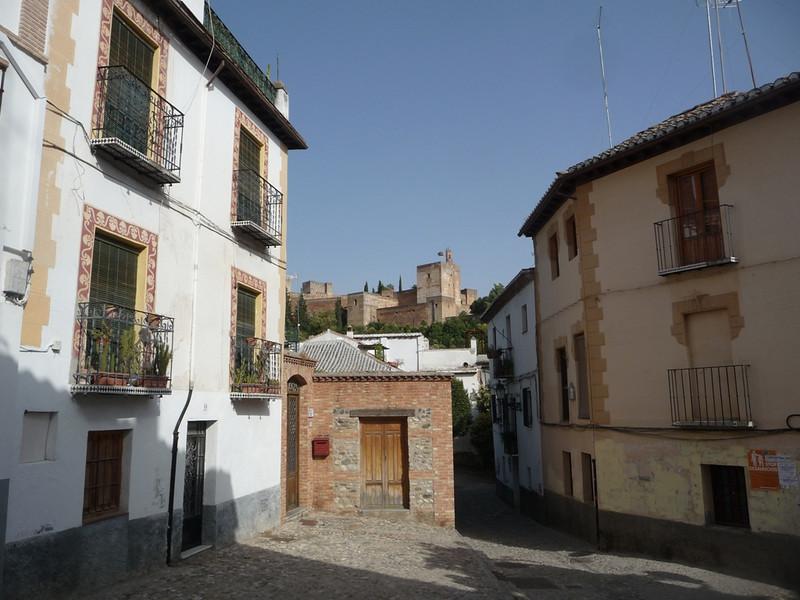Scene in the Albaicin