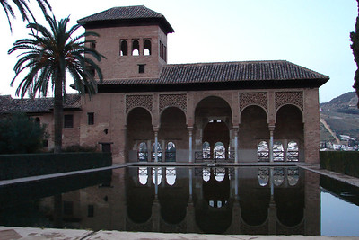 Granada - Alhambra - Palacios Nazaríes - El Partal