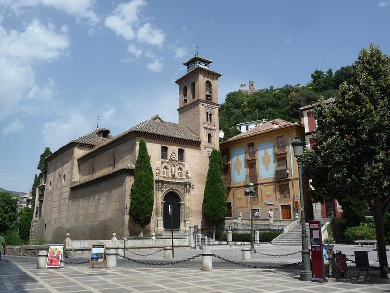 A church on Douro Street