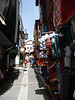 Many items for sale in the narrow alleyways of Albaicin in Granada