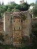 Old bridge that used to span the river in Granada
