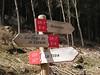 Señal en el inicio de nuestra ruta por la GR7 entre Santiago de la Espada y Cazorla