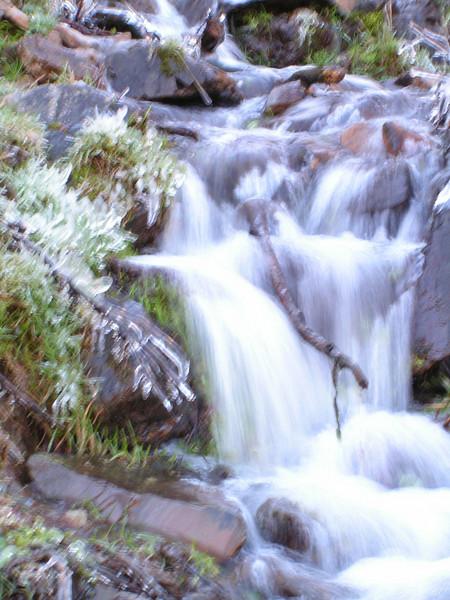 Riachuelo en los Montes de Urbión