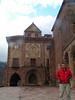 Luis en el Monasterio de la Valvanera (La Rioja)