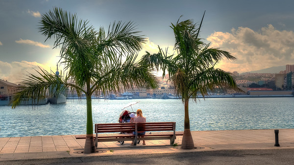 Las Palmas, Gran Canaria, a pleasant break in the port.