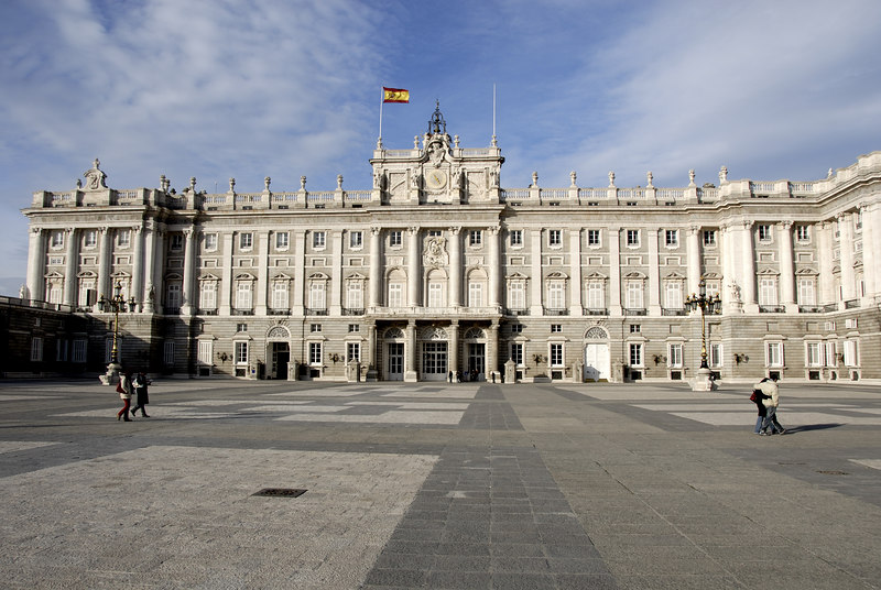 The Palacio Real de Madrid (Royal Palace of Madrid), also called Palacio de Oriente (Palace of Orient) is the official residence of the King of Spain, located in the Spanish capital of Madrid.