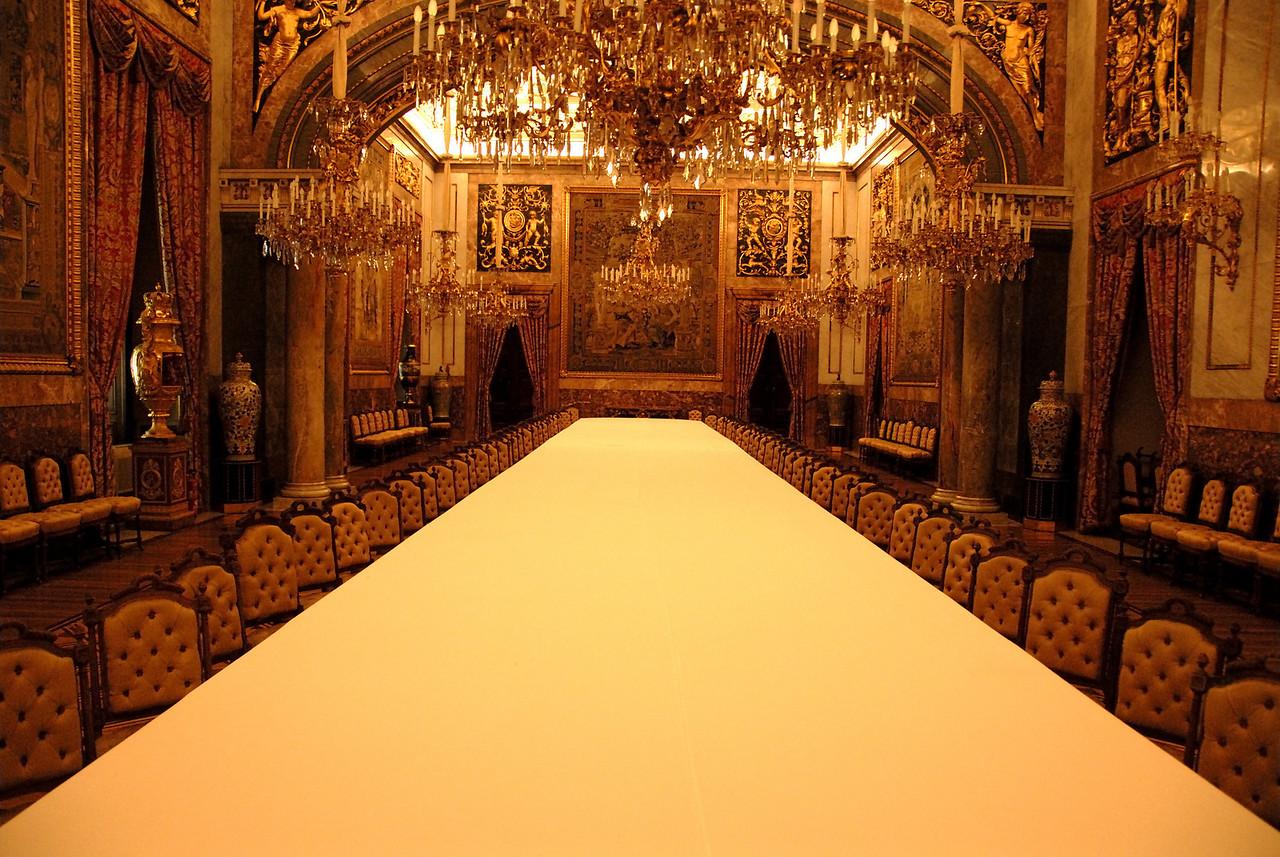 Palacio Real de Madrid Dining Room