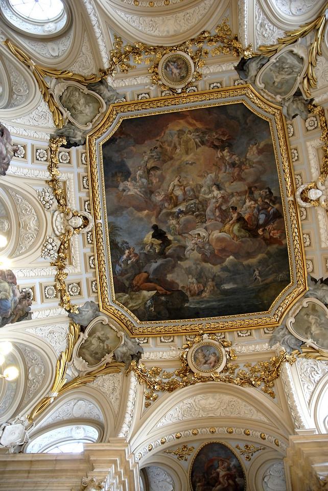 Palacio Real de Madrid Ceiling