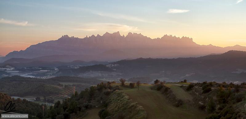 The colors of the Montserrat