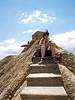 En la cresta del precipicio, Bardenas Reales (Navarra)