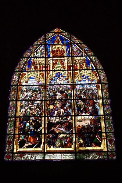 Cristalera en Roncesvalles (Navarra)