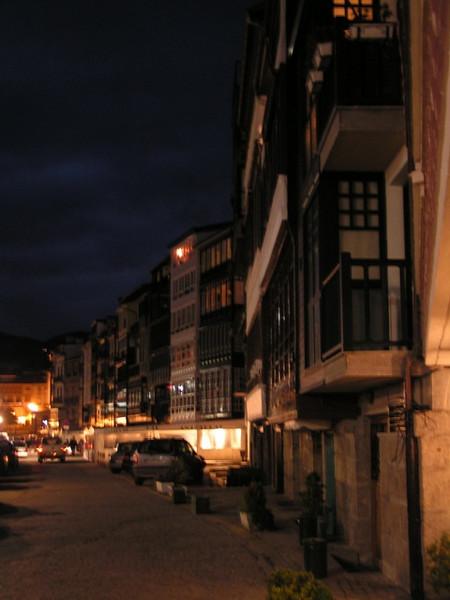 Un paseo de noche por Lekeitio