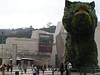 Entrada del Guggenheim en Bilbao.