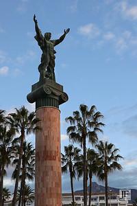 Statue La Victoria, Puerto Banus
