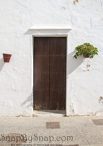 Spainsh door in White Wall
