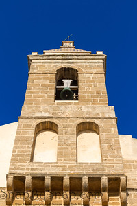 Bell Tower of a Spainsh Church