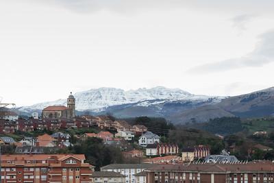 Mountains outside of Santander