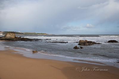 Beach at Santander