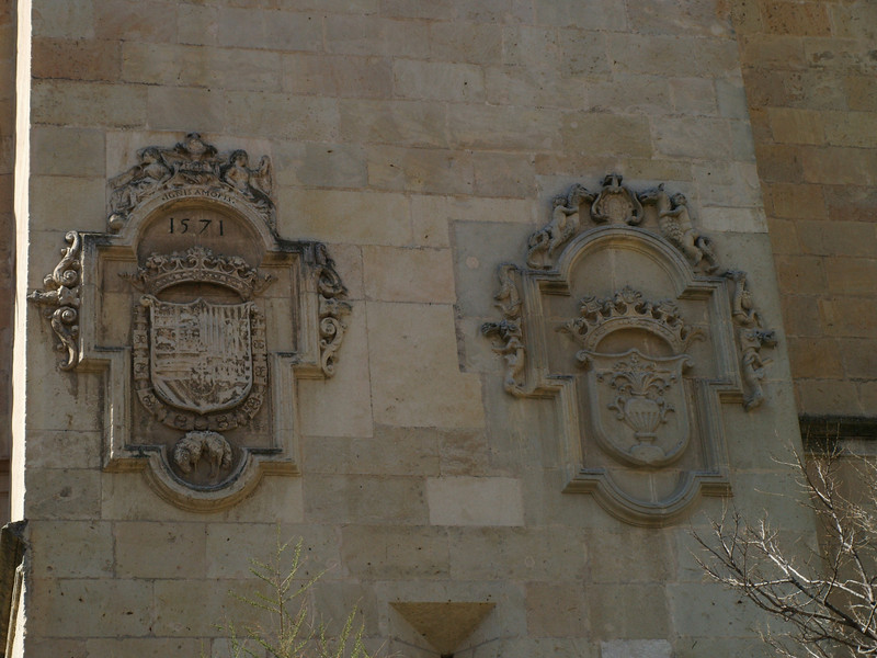 Escudos en la Catedral
