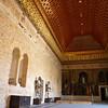 Sala de la Galera (Alcázar), fue construida por la reina Catalina de Lancaster durante la minoría de edad de su hijo Juan II. El nombre de la sala se debe a la primitiva forma de su artesonado, de casco de nave invertida, que se perdió en el incendio de 1862.