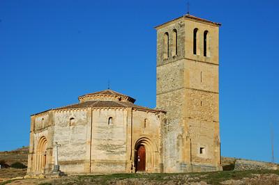 Iglesia de la Vera Cruz,Segovia, Spain