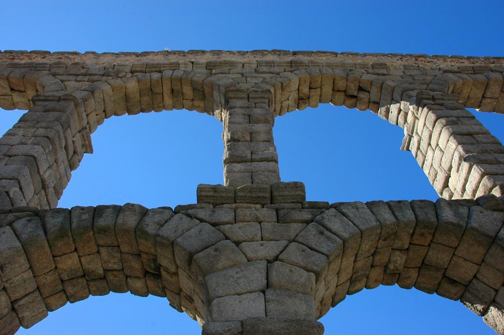 The Aqueduct of Segovia, Spain