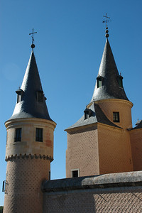 The Alcazar of Segovia, Spain
