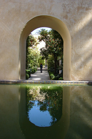 Sevilla - Real Alcázar - Baños Doña Maria de Padilla