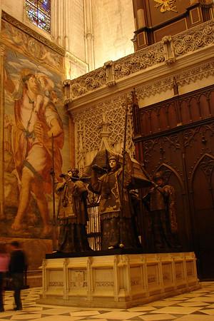 Sevilla - Cattedrale -  Cristoforo Colombo