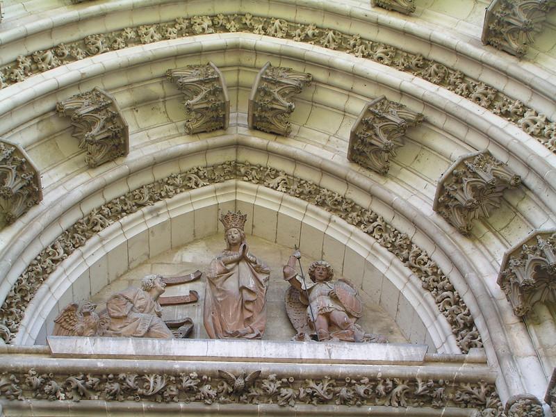 Friso de la Catedral de Sevilla
