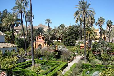 Sevilla - Real Alcázar - Jardines