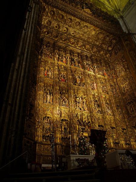 Altar de la Catedral de sevilla
