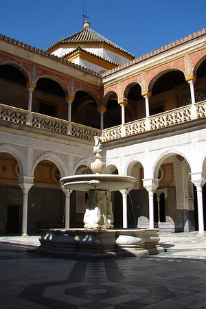 Sevilla - Casa de Pilatos - Patio principal