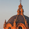 chapel dome at sunset, Barrio Santa Cruz, Seville