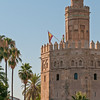 Torre del Oro, morning, Seville
