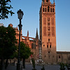 sunrise light on Giralda, Seville