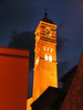 De noche merodeando por la Iglesia en tarazona