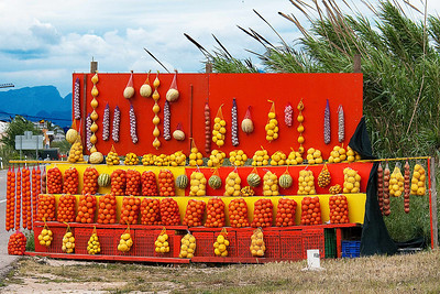 The Costa Blanca is noted for its citrus crops.