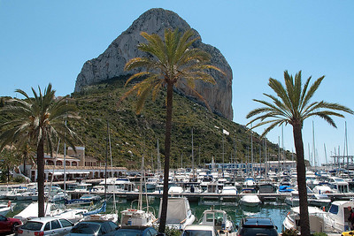 Calpe harbor